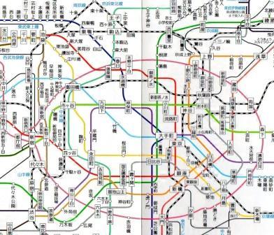 Tokyo Subway Map Keikyu Asakusa Mita.Subways Tokyo Direct Guide